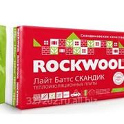 Утеплитель Rokwool Лайт Батс Скандик 100, 50 фото