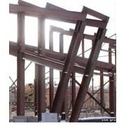 Конструкции металлические, колонны, фермы, балки перекрытий фото