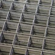 Сетка рабица с полимерным покрытием 100x100x4 фото