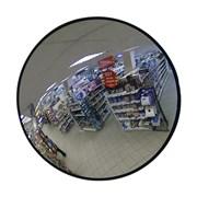 Обзорное зеркало безопасности, 900 мм, черный кант фото