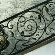 Перила железные кованые на заказ фото