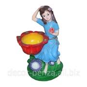 Фигура Дева Лилия цветная 400 мм фото