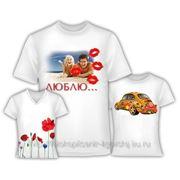 Фото на футболках,надписи на футболках
