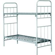 Двухъярусная армейская кровать ГОСТ 2056-77 фото