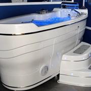 Гидромассажная ванна С-280 T-REM MA-08 Blue WaveПредназначается для профессионального и персонального использования, спа-центров, клиник, санаториев и VIP-резиденций. Эксклюзивный размер, дизайн и функции. Производство США. фото