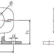 Зажим опорный для присоединения к шине (типа ОПЗТ) фото