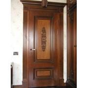 Двери шпонированные деревянные межкомнатные фото