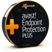 Антивирус avast! Endpoint Protection Plus, 1 год (от 20 до 49 пользователей) для образовательных учреждений (EPP-07-020-12-EDU) фото