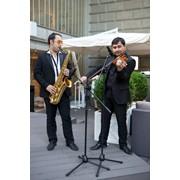 Саксофонист и скрипач на любой праздник: фуршеты, встречу гостей, презентации свадьбы и т. д. фото