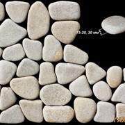 Галька из песчаника фото