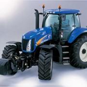 Трактор NEW HOLLAND с комплектом спаренных колес Т8040 фото