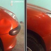 Беспокрасное удаление вмятин на автомобилях фото