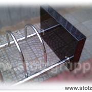 Велопарковка STOLZ с камнем фото