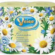 Туалетная бумага Linia Veiro Аромат Ромашка 2-сл 4рул (х10) фото