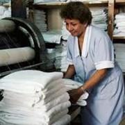 Стирка текстиля. фото