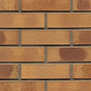 Кирпич клинкерный Muhr 06K Hellbraun-bunt Kohle гладкий, 240*115*52 мм фото
