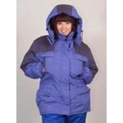 Куртка женская утепленная Индиго фото