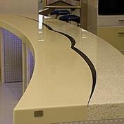 Столешница из искусственного камня 2500х1200х50 (6 мм) фото