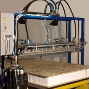 Оборудование для производства сэндвич-панелей, Линия МКМ 2клеенаносящий узел подвижного типа МКМ 9 фото