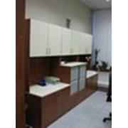 Установка офисной мебели фото