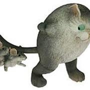 """Фигурка декоративная """"Кот и мышки"""" 30*15*22см. 22810 фото"""