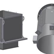 Стаканы монтажные СК к вентиляторам дымоудаления фото