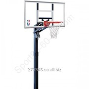 Баскетбольная стойка Spalding Gold 54 In Ground Acrylic фото