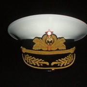 Фуражка Адмиральская СССР, производство форменных головных уборов фото