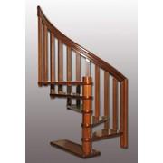 Винтовые лестницы деревянные