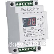 Двухканальный терморегулятор terneo k2 фото