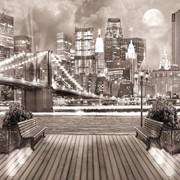 """Фотообои Color """"Ночной Бруклин"""" K-306 фото"""