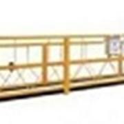 Фасадный подъемник (строительная люлька) фото