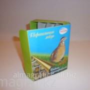 Коробка Алма Графикс под перепелиные яйца фото