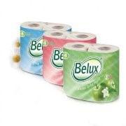 Туалетная бумага BELUX 2-сл САЛАТОВАЯ (4рул/упак) (12упак/пак) фото