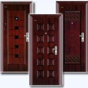Металлические двери. фото