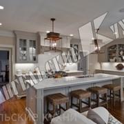 Кухня белая арт. КД059 фото