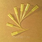 Наконечники 5-200 мкл, Gilson ПП жёлтые, 1000 шт/уп (Ningbo, Китай) фото