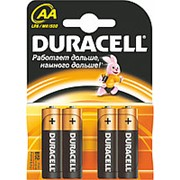 Батарейка Duracell АА, LR6, А316, 4 шт/уп фото