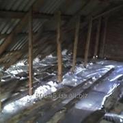 Утепление крыш жидким пенопластом ПЕНОИЗОЛ (Юнипор) , экоизол фото