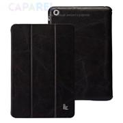 Чехлы jisonCase Vintage Premium Leather Smart Cover Case Black для iPad mini фото