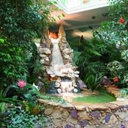 Зимний сад и строительные материалы для обустройства зимнего сада фото