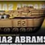 MZ 1:18 Танк M1A2 ABRAMS ру фото