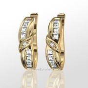 Серьги с бриллиантами E11435-3