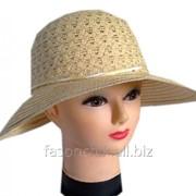 Шляпа соломенная капор 021 фото