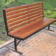 Скамейка садовая 1 фото
