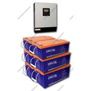 Система бесперебойного электроснабжения для дома EX3000-24/D1200(6x200) GEL фото
