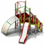 Уличный спортивно-игровой комплекс Олимпик-2 для детей 6-12 лет фото
