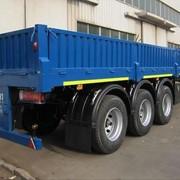 Прицеп бортовой 50 тонн ATLANT SWH 1250 фото