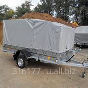 Автомобильный прицеп Трейлер 3,2х1,4м для перевозки снегохода, квадроцикла фото