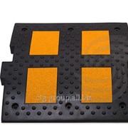 Искусственная дорожная неровность Средний элемент ИДН 500 500x500x50 мм фото